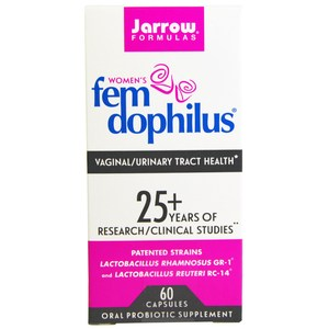 Jarrow Formulas, FemDophilus, 60 Capsules (Ice)