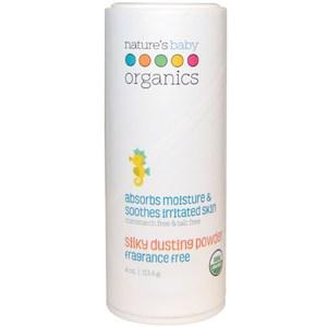 Nature's Baby Organics Silky Dusting Powder Fragrance Free 4 oz (113.4 g)
