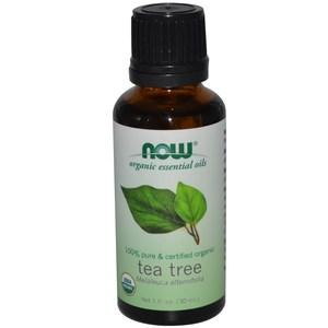 Now Foods Organic Essential Oils Tea Tree 1 fl oz (30 ml)