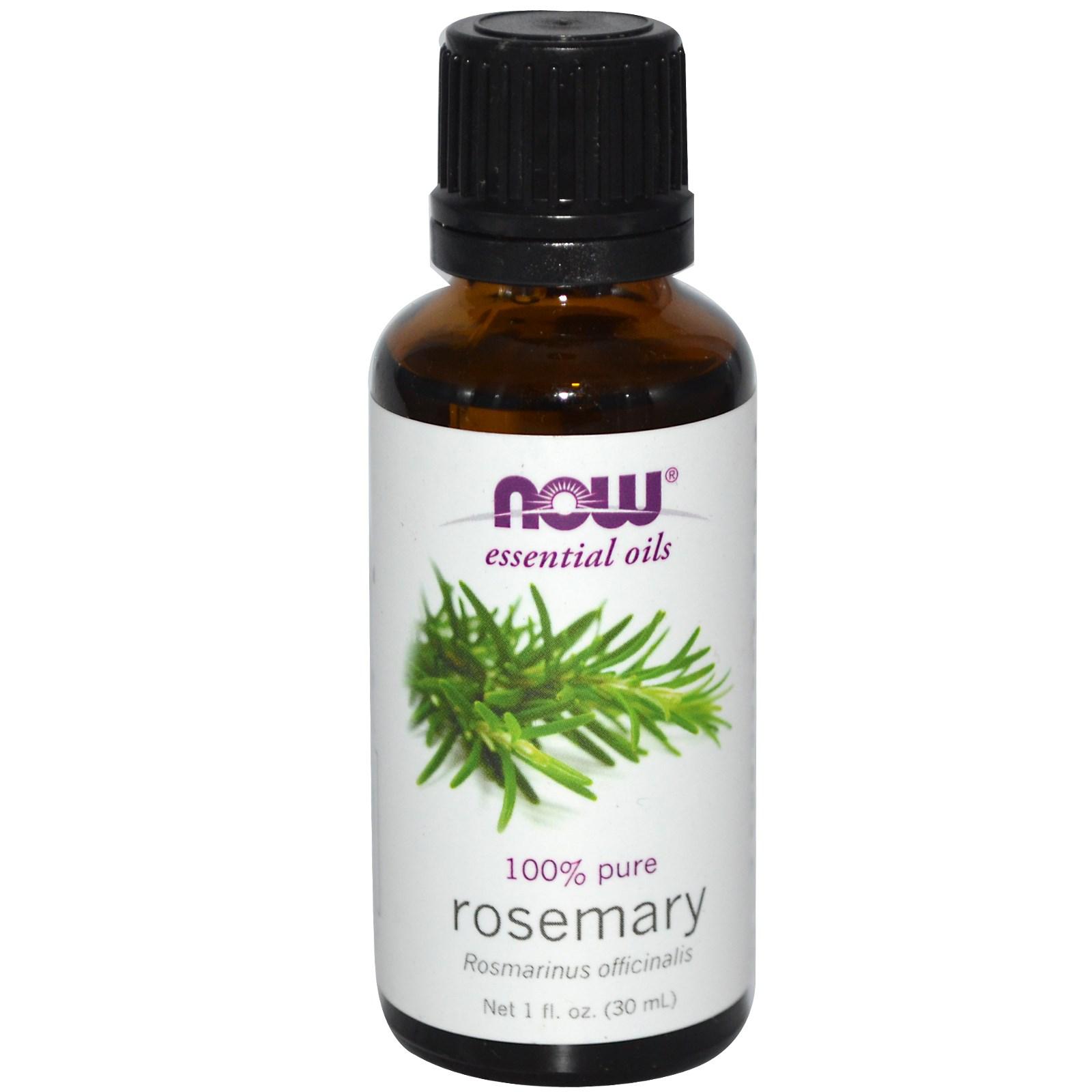 Now Foods Essential Oils Rosemary 1 fl oz (30 ml)
