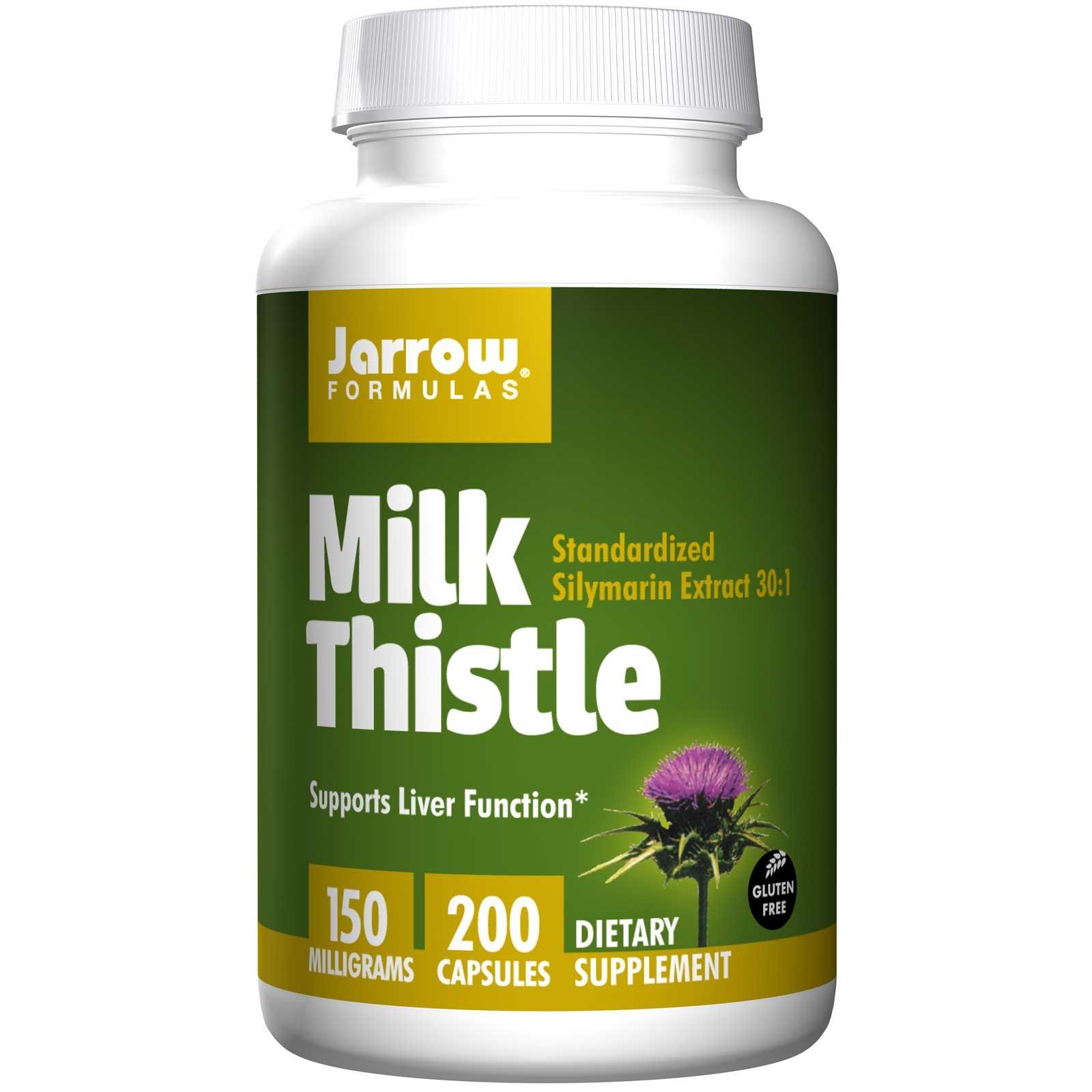 Jarrow Formulas Milk Thistle 150 mg 200 Capsules