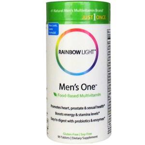 Rainbow Light Just Once Men's One Food-Based Multivitamin 90 Tablets